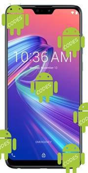 Asus Zenfone Max Pro M2 ZB631KL codes