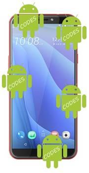 HTC Desire 12s codes