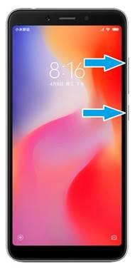 Hard reset Xiaomi Redmi 6