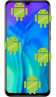 Huawei Honor 20i codes