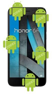 Huawei Honor 6A codes