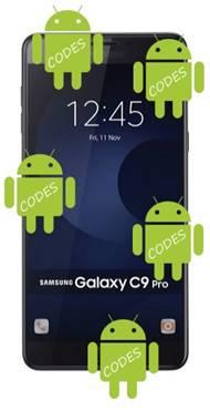Samsung Galaxy C9 Pro Codes - Secret Codes | GooMobiles com