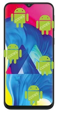 Samsung Galaxy M10 codes