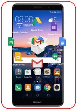 set up Google account on Huawei Mate 9