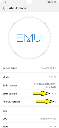 update software for Huawei