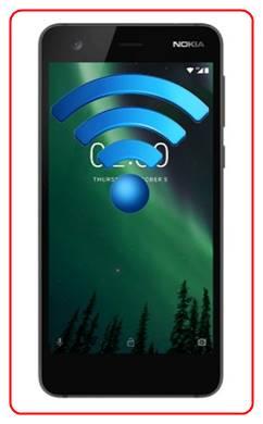 Set up Wi-Fi Hotspot on Nokia 2