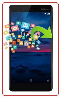 backup your data on Nokia 7
