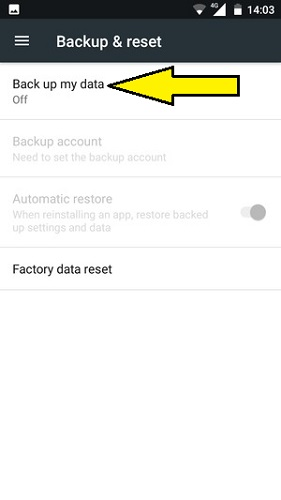 backup your data on your Nokia