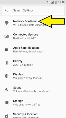 set up wi-fi hotspot on Nokia